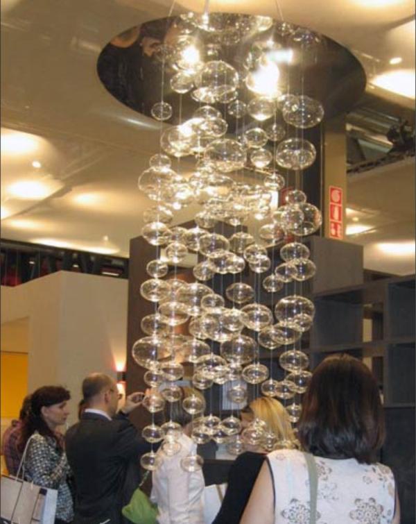 Height 100cm light modern Murano Due Bubble Glass 110V/220V Suspension Light ceiling light modern living room lamp free shippng<br><br>Aliexpress