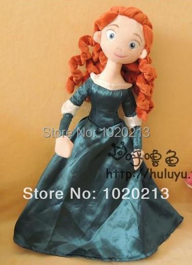 Free Shipping Brave Merida Princess Doll Plush Toys 50cm,Princess Merida Plush Doll Stuffed Doll Good Quality<br><br>Aliexpress