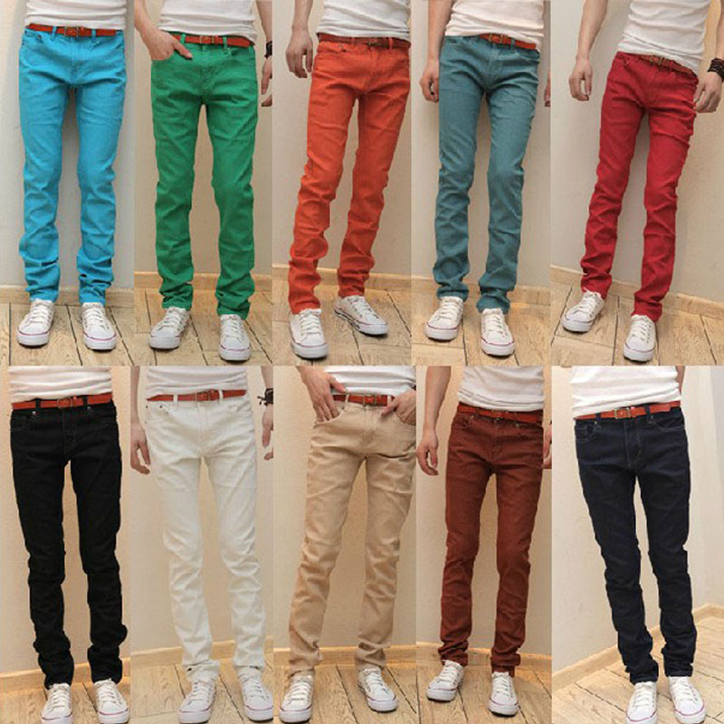 Different Color Jeans For Men Photo Album - Fashion Trends and Models