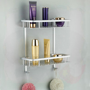 Simple  Bathroom Accessories  Bathroom Shelves  Wulan Hanging Bathroom Shelf