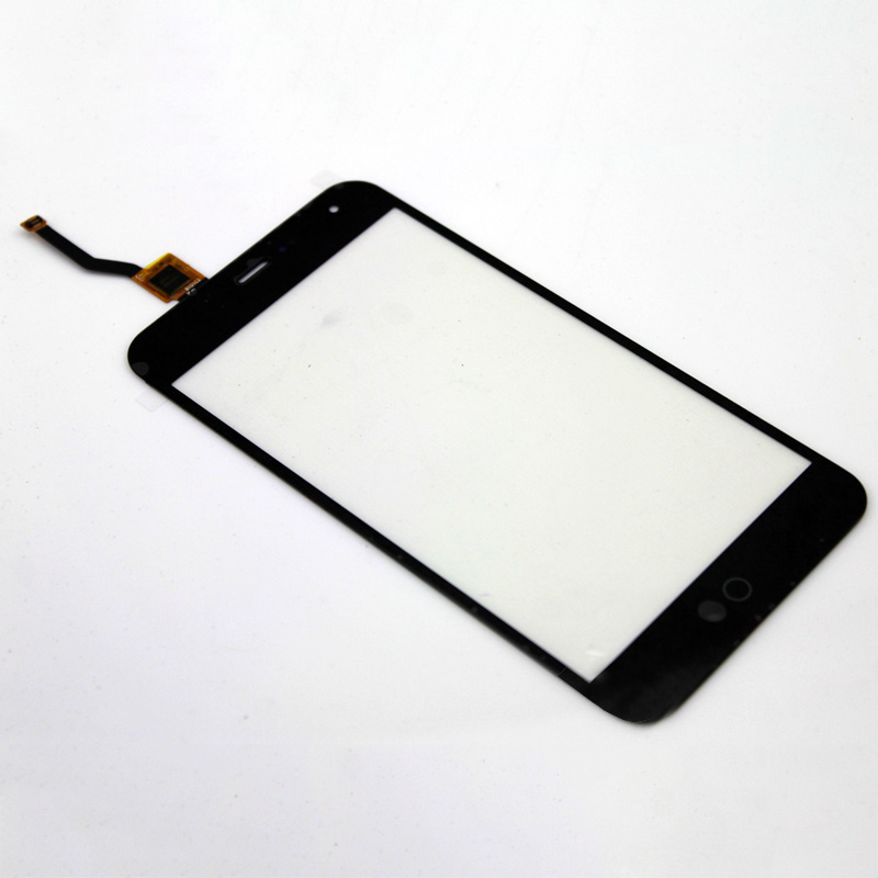 Tested 10pcs Original Front Touch Screen Digitizer Outer Glass Lens For Meizu Meilan Meiblue 4.7