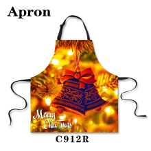 Christmas Decorative Clock New Pet Cat On The Apron Grease And Men's And Women's Home Furnishing Restaurant Kitchen Aprons Ms.(China (Mainland))