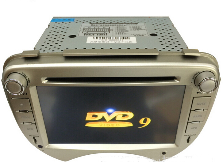 Car Radio Audio DVD Player GPS BT Suitable For NISSAN MARCH Retail/Pc Free Shipping(China (Mainland))