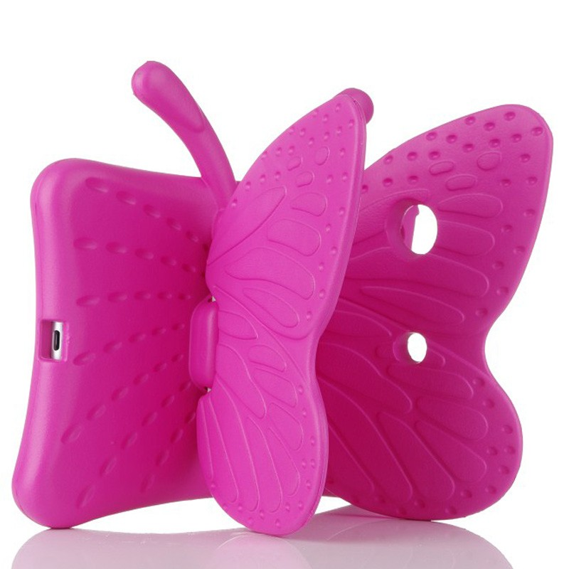 """Shockproof Cartoon Butterfly Stand Case for iPad Mini Smart Cover for Apple iPad mini 7.9""""Case -Kids Children Gamer School Gifts"""