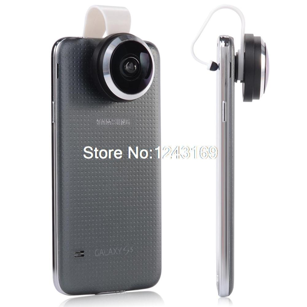 Universal Amazing 235 degree Super Fisheye Fish eye Lens Detachable For Tablets phone Iphone HTC Samsung Galaxy S3 S4 S5 DC582