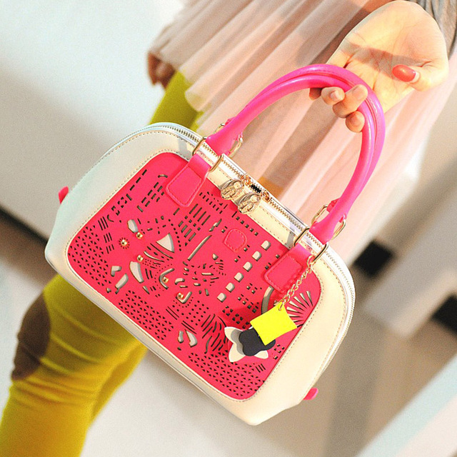 2013 women's handbag cutout shell bag handbag shoulder bag hangings
