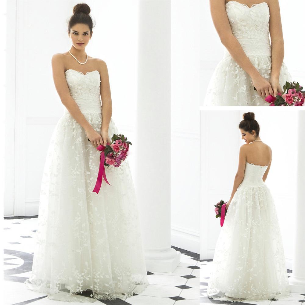 Tea length beach crystal bead lace designer bridal dress for Wedding dress beading patterns