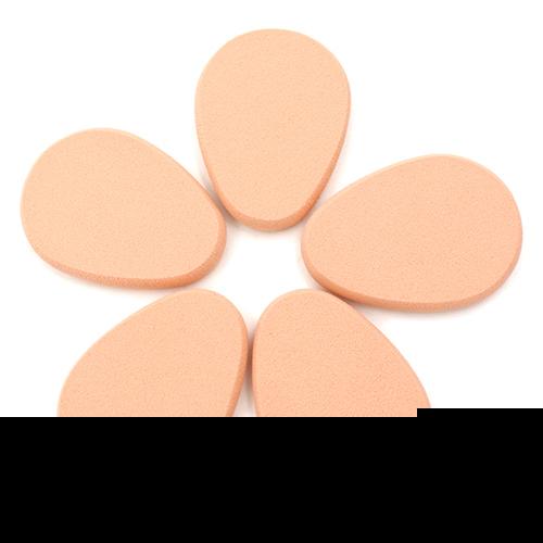 5x ovo Oval esponja de maquiagem suave Blender Powder Puff Flawless beleza fundação 6BG2