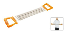 2015 Highly Commend Child Orange Handle Five Springs Chest Expander Pull Exerciser