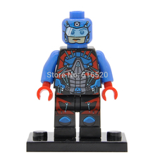 Wholesale DC Atom Super Heroes Minifigures Single Sale Building Blocks 20pcs/lot Superhero Sets Models Bricks Toys Figures