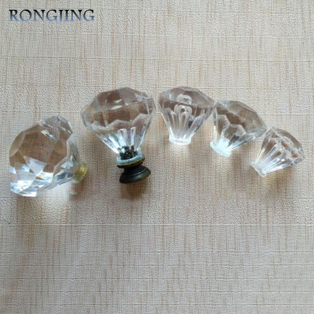 10pcs Plastic Dresser Knobs Plexiglass Furniture Accessories Kitchen Cabinet Drawer Knobs Closet Wardrobe Cupboard Pulls(China (Mainland))