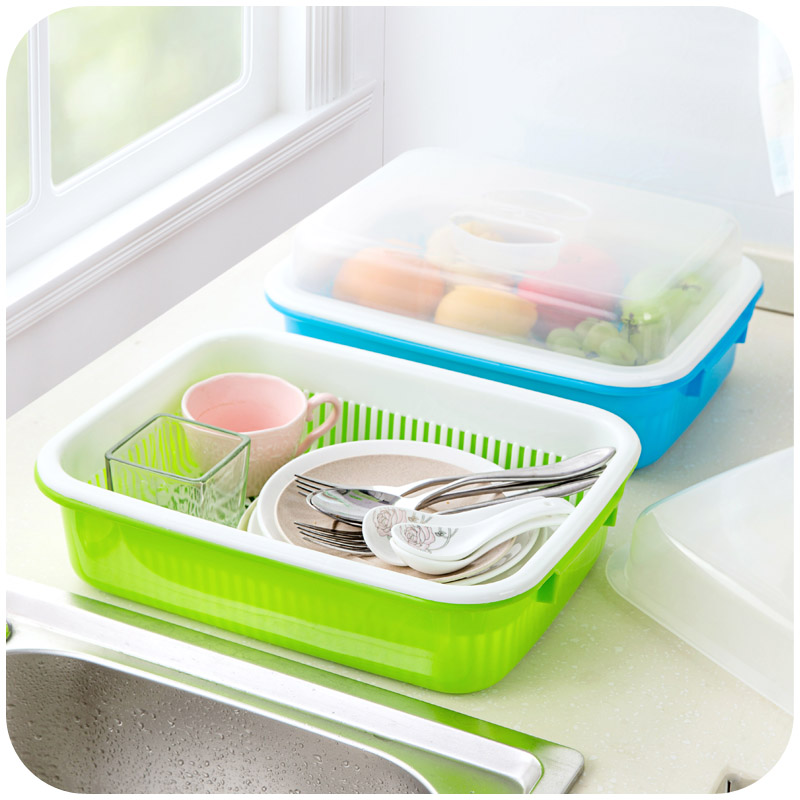 Online buy wholesale crockery storage from china crockery for Cutlery storage with lid