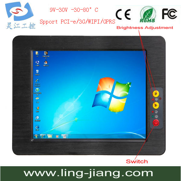 USB Panel Wholesale 17 inch LCD TFT Touch Screen MonitorFull Function Touch Panel PC touch screen kiosk(China (Mainland))