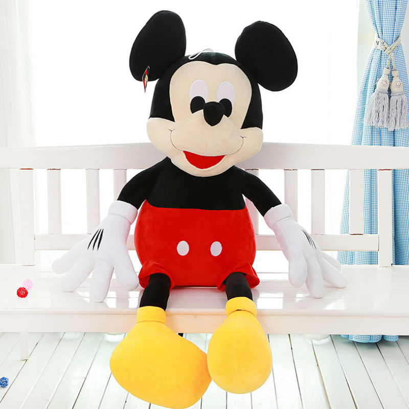 1 pcs 50CM Wholesale New Valentines Gift Mickey Minnie Plush Toy Large Mickey Mouse Lovers Doll Birthday gifts kids toys(China (Mainland))
