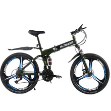 Buy ALTRUISM X9 Pro Steel 24 Speed 26 Inch Folding Bike 3 Spokes Mountain Bike Road Bicycle Mountain Bikes for $257.38 in AliExpress store