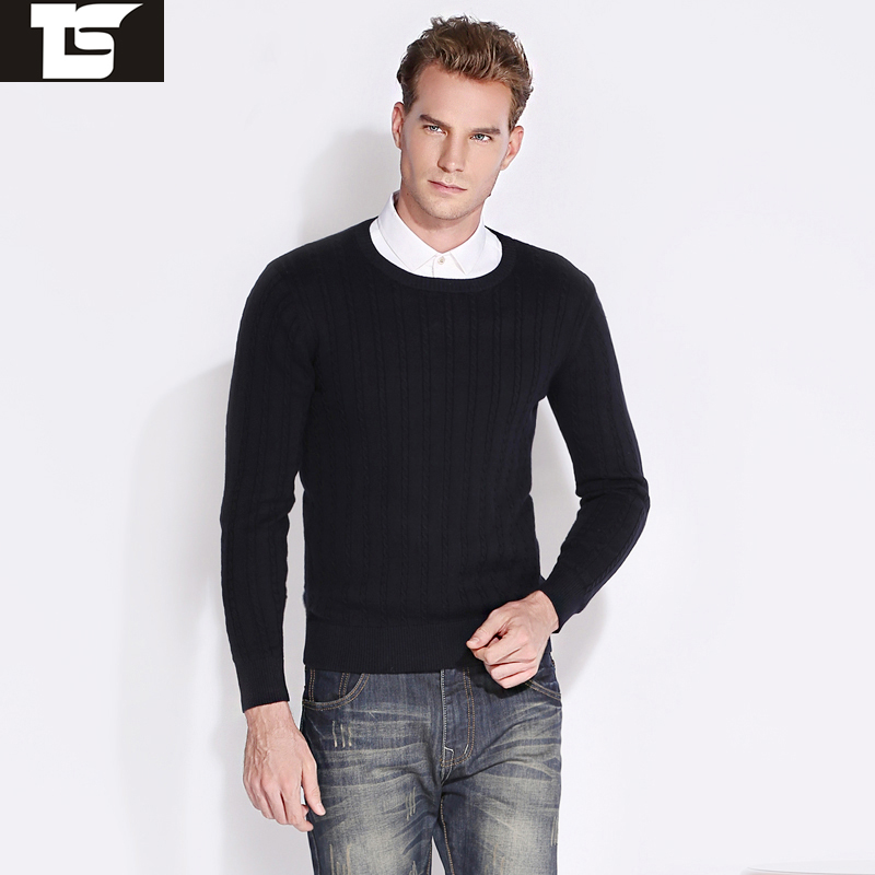 TS Free shipping autumn new brand of high quality men's sweater knit sweater men sweater Slim casual men's sweater size M-2XL(China (Mainland))