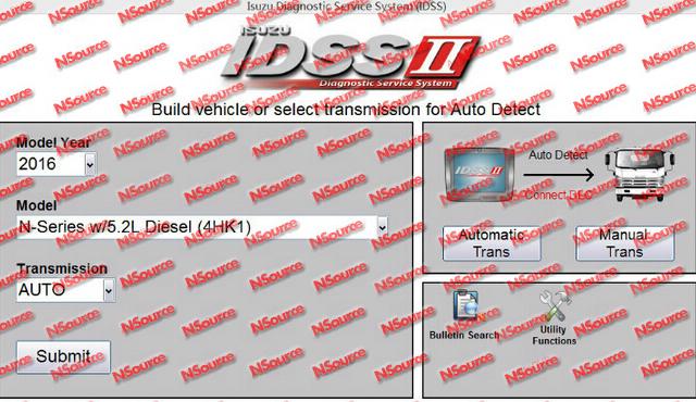 Isuzu IDSS II 2016 - Isuzu Diagnostic Service System+license for many PCs