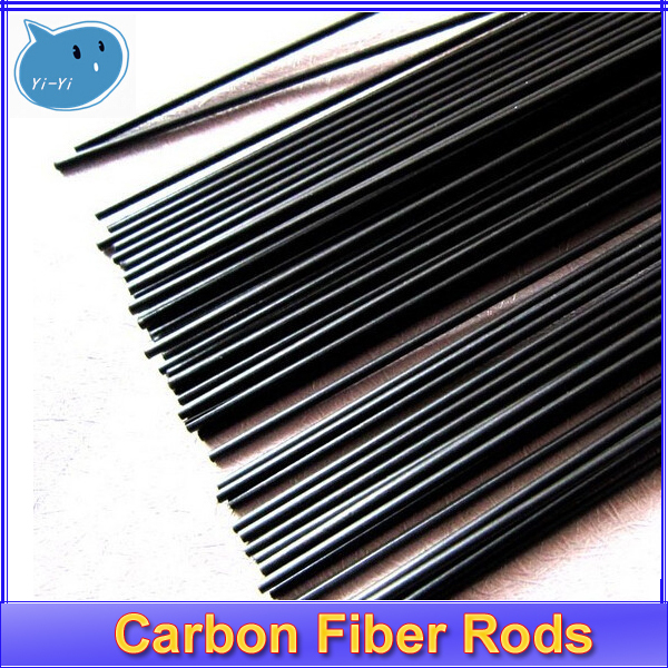 Гаджет  4pcs/lot New Carbon Fiber Rods for RC Plane DIY tool wing tube Quadcopter arm 1mm 1.5mm 2.0mm 3mm (1 meter) Wholesale None Игрушки и Хобби