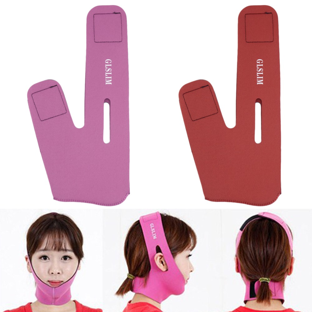 New Women Girl Wrinkle V Face Chin Cheek Lift Up Slimming Mask Belt Strap Band make you look more sexy and beautiful 2016(China (Mainland))