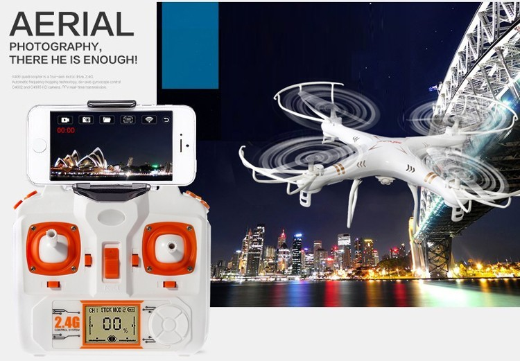 2015 NEW X6sw RC Helicopter Drone Quadcopter Professional Drones With C4005 Wifi Fpv Camera VS X600 x5sw