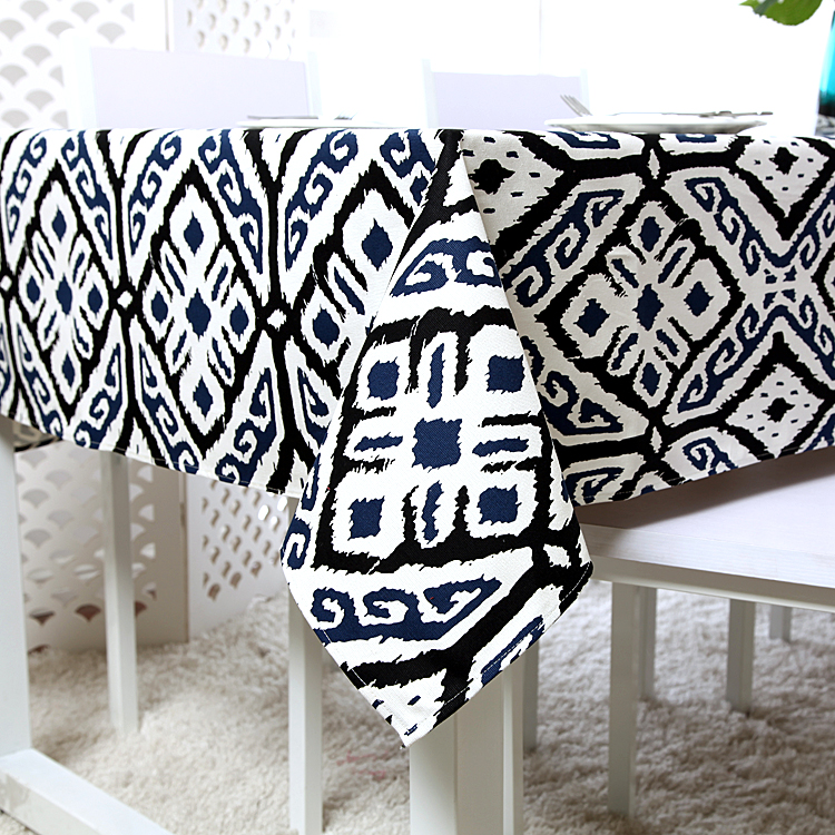 2016 New Arrivel Nation Wind Pope Geometric Cotton Tablecloth Table Cloth High Quality Table Cover manteles para mesa(China (Mainland))