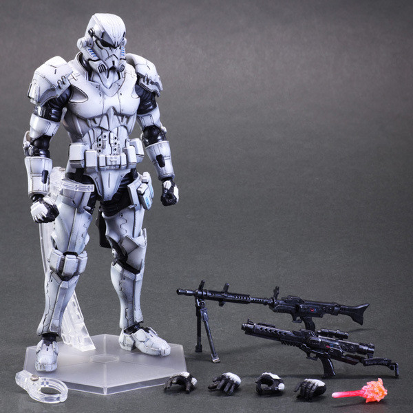 New SQUARE ENIX PA Play arts change Star Wars storm white soldiers 27cm PVC Action Figure Model Toys Gifts Collection(China (Mainland))