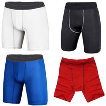 Free shipping Men Sports  Wear Under lovers summer shorts Leggings male Cotton polyester shorts(China (Mainland))