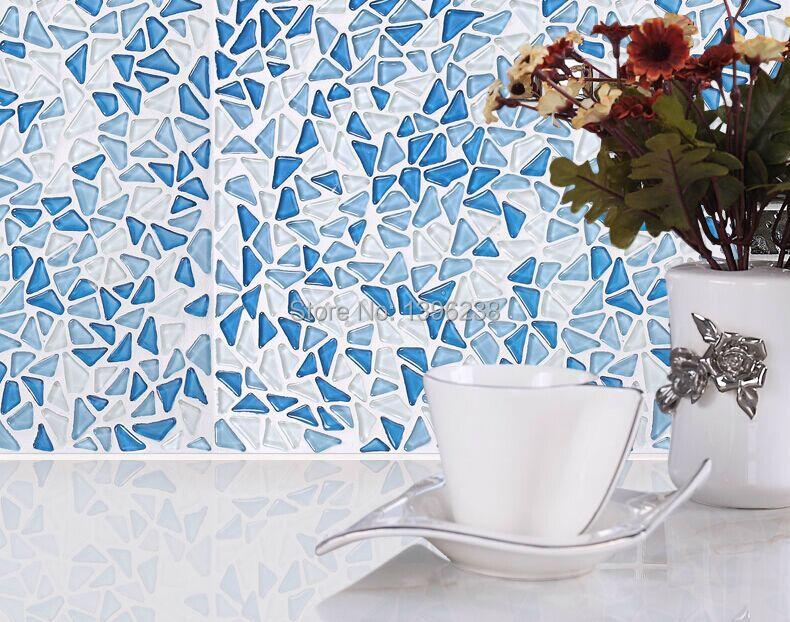 LSGB01,glass mosaic,blue glass mosaic,kitchen backsplash glass mosaic,kitchen backspalsh mosaid tile