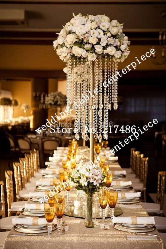 Online Get Cheap Table Top Chandeliers Wedding Aliexpress – Chandeliers for Weddings Decoration