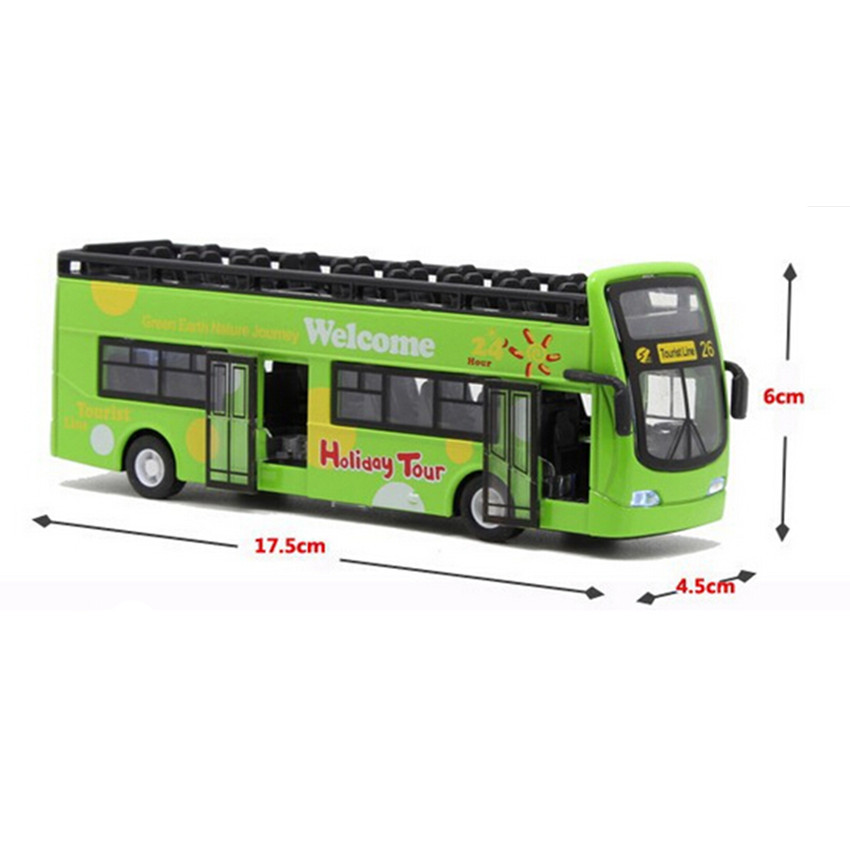 New Coming Large Size Travel Bus Alloy Car Toys for Children's Christmas Gift,1:32 Scale Tourist Bus Kids Toy(China (Mainland))