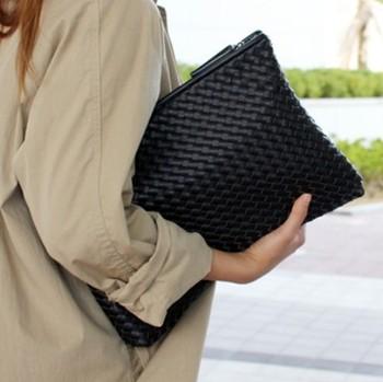 Kpop вязание женщины в сцепление мешок полиуретан кожа женщины конверт сумки сцепление ...