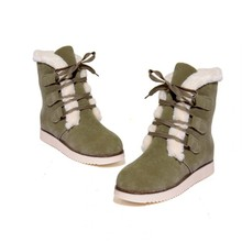 Casual Women Boots Suede Fur Comfortable Warm High Quality Australia Boots Fashion Women Snow Boots Winter Shoes Brand Classic(China (Mainland))