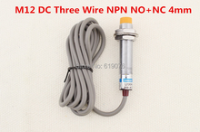 Buy 5Pcs M12 DC Three Wire NPN NO+NC 4mm distance measuring Inductive proximity switch sensor LJ12A3-4-Z/CX for $12.85 in AliExpress store