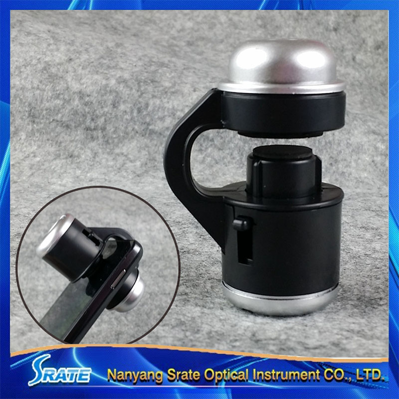 Pocket Universal 30X Mobilephone Clip Magnifying Glass Loupe Microscope Cellphone Magnifier<br><br>Aliexpress