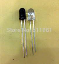 20pcs/10pairs 5mm 940nm LEDs infrared emitter and IR receiver diodes(China (Mainland))