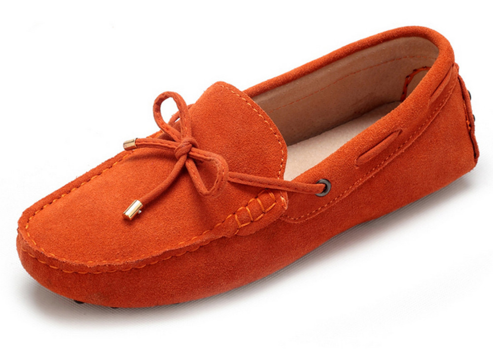 39-46 Plus Size Men Shoes Genuine Leather Moccasins Shoes Suede Gommino Loafers Casual Men Flats Slip On Big Size 10 Colors(China (Mainland))