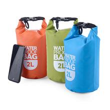 Outdoor Lightweight Rafting Bag Waterproof Bag Ultra Small Volume Waterproof Bag Folding Dry Bag for Camping HB88(China (Mainland))