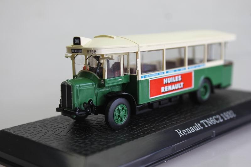 ATLAS 1: 72 Renault Tn6c2 1932 bus alloy car models(China (Mainland))