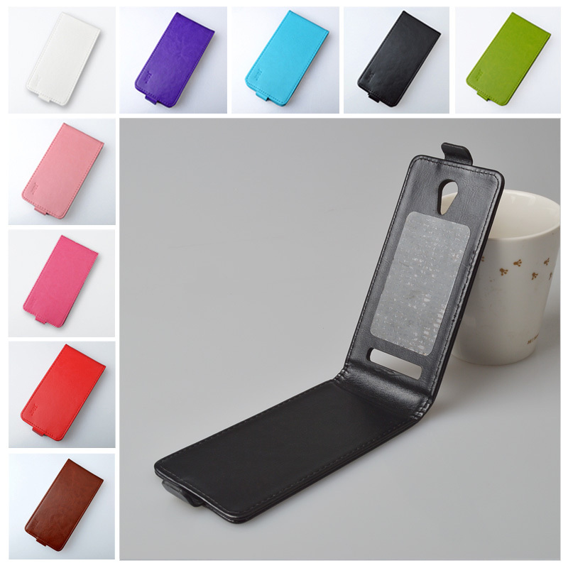 Original J&R Brand Case for Highscreen Zera S Rev.S PU Leather Flip Cover High Quality Magnetic Phone Bag 9 Colors in Stock(China (Mainland))