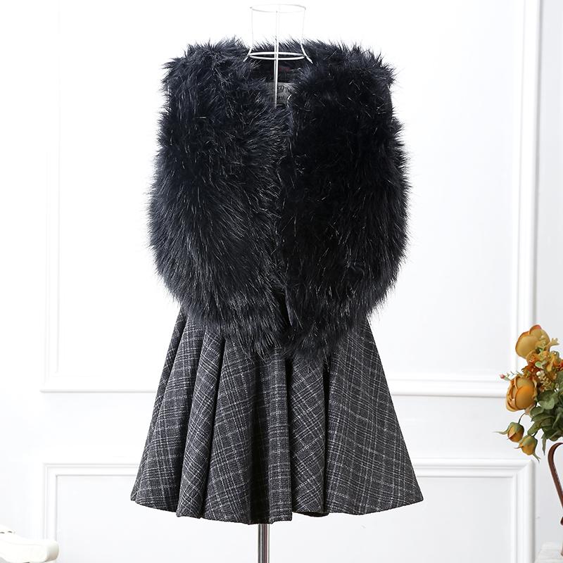 vest mink coat autumn winter waistcoat long hair smooth fox mink fur coat 2016 new arrival(China (Mainland))