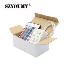 Buy SZYOUMY 24 Keys Remote IR Controller 5050 3528 Led Strip Light Lowest Price,200pcs/Lot Drop Shiping for $254.32 in AliExpress store