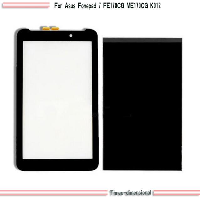 Панель для планшета Asus Fonepad 7 FE170CG ME170CG K012 /+ For FE170CG ME170CG K012 панель для планшета 7 4 7 tft hsd070idw1 at070tn92 at070t90 at070tn92touch screen