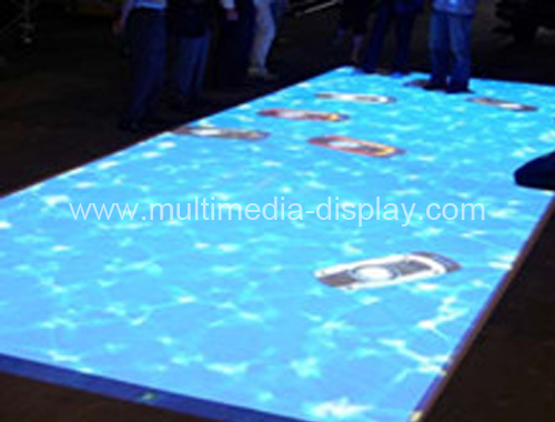 interactive floor projector system and 60 effects and necessary hardware for shop center, Define interactive zones free shipping(China (Mainland))