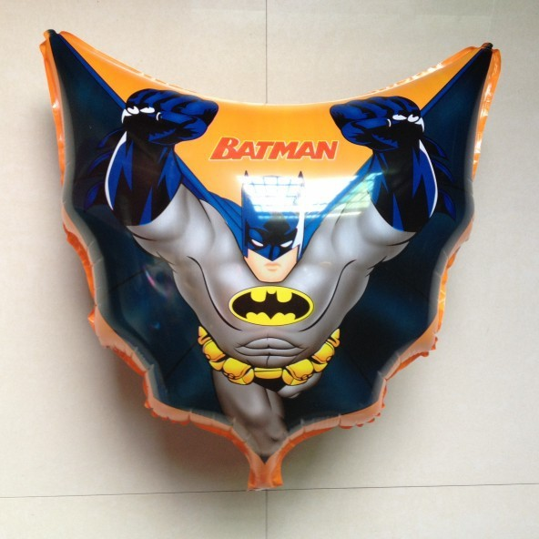 50 PCS/bag Batman Helium balloons Kids birthday party supplies Inflatable toys gifts for children