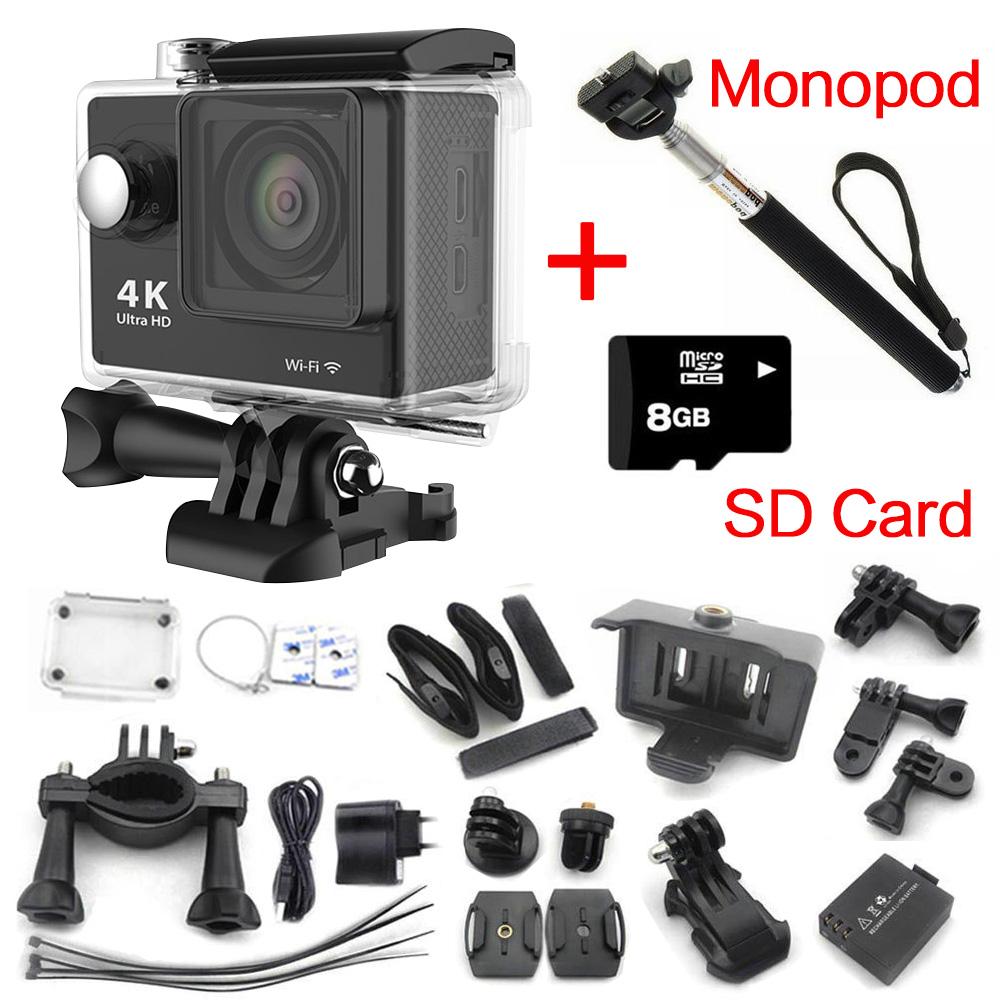Camera action go cam pro sport ultra 4k full hd