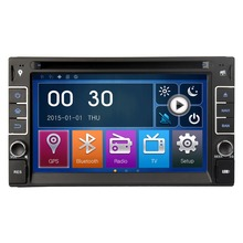 Universal 2DIN 6 2 Touch Screen Car Dvd Player Stereo Audio Radio Bluetooth GPS EXTV USB