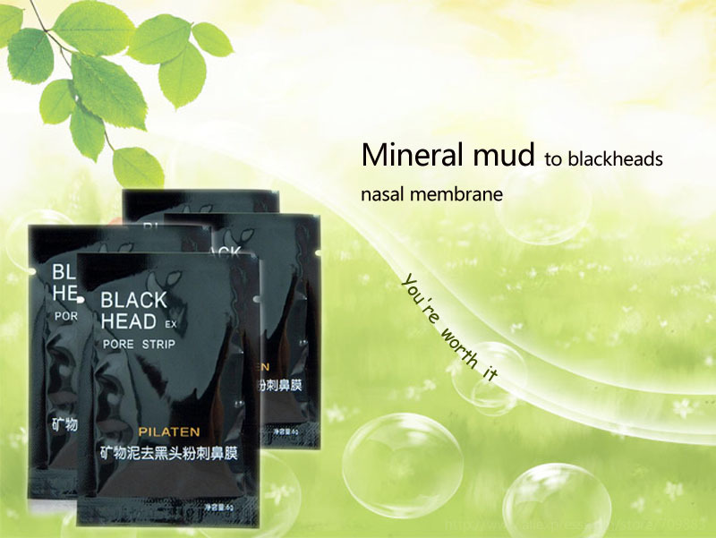 PILATEN Tearing style Deep Cleansing purifying peel off Black head,Close pores,facial mask black head pore strip 1000pcs/lot(China (Mainland))