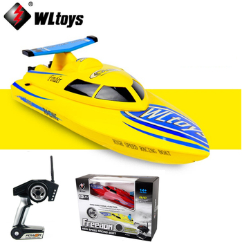 1 Set Wltoys WL911 4CH 2.4G High Speed Racing RC Boat RTF 24km/h Remote Control Toys
