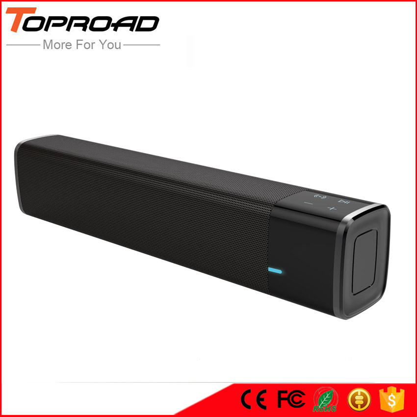 TOPROAD Portable 20w Wireless Bluetooth Speaker Soundbar Super Bass Stereo Loudspeaker with Touch NFC Speakers for Phone TV(China (Mainland))