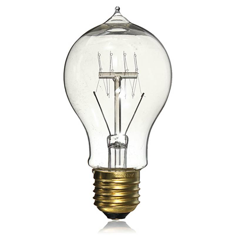 Durable E27 40W A19 Incandescent Vintage Antique DIY Handmade Edison Bulb Lamp Fixtures Style Filament Clear Glass Light Globe(China (Mainland))
